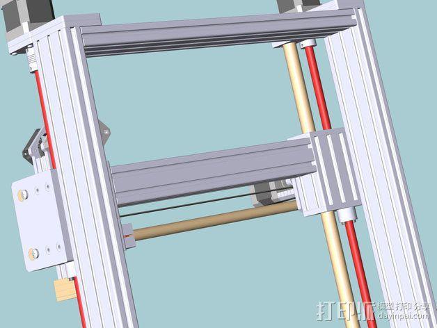 打印机 3D模型  图7