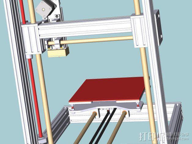 打印机 3D模型  图6