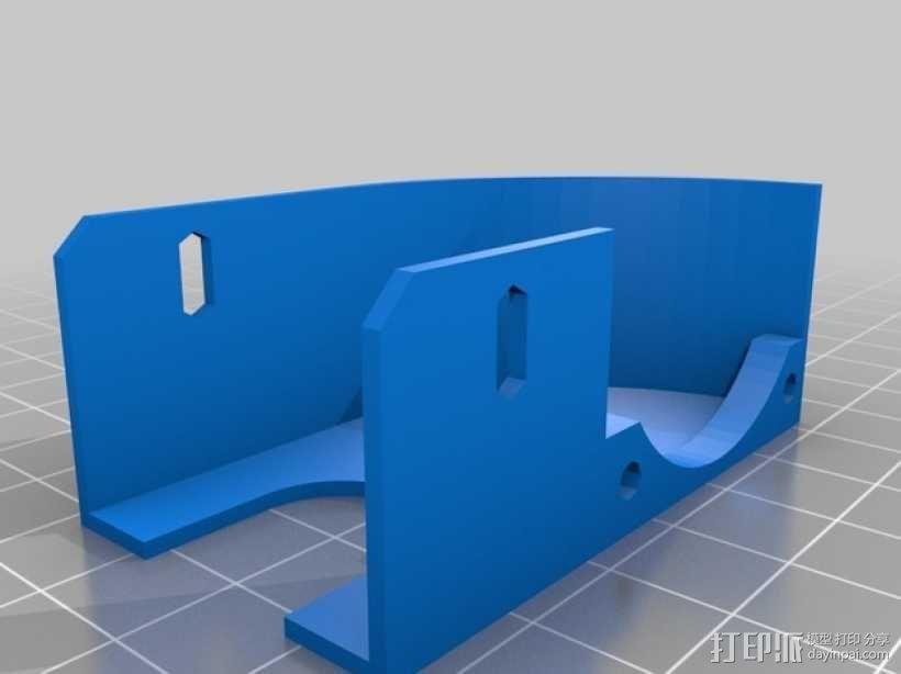 挤出器 3D模型  图14