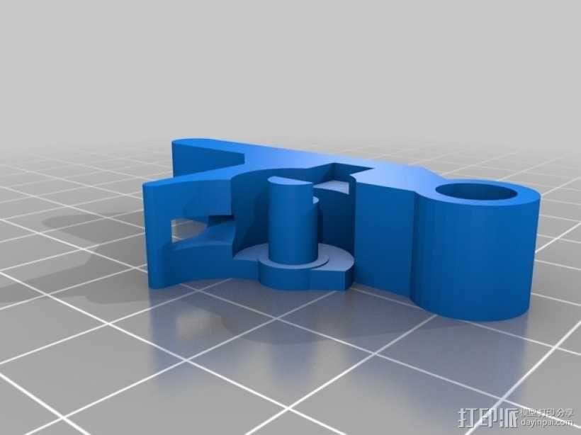 挤出器 3D模型  图13