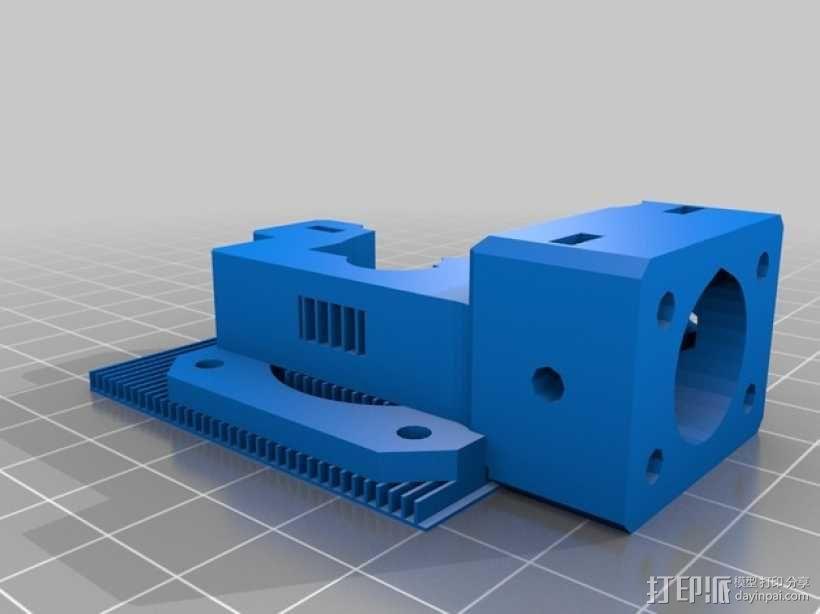 挤出器 3D模型  图12