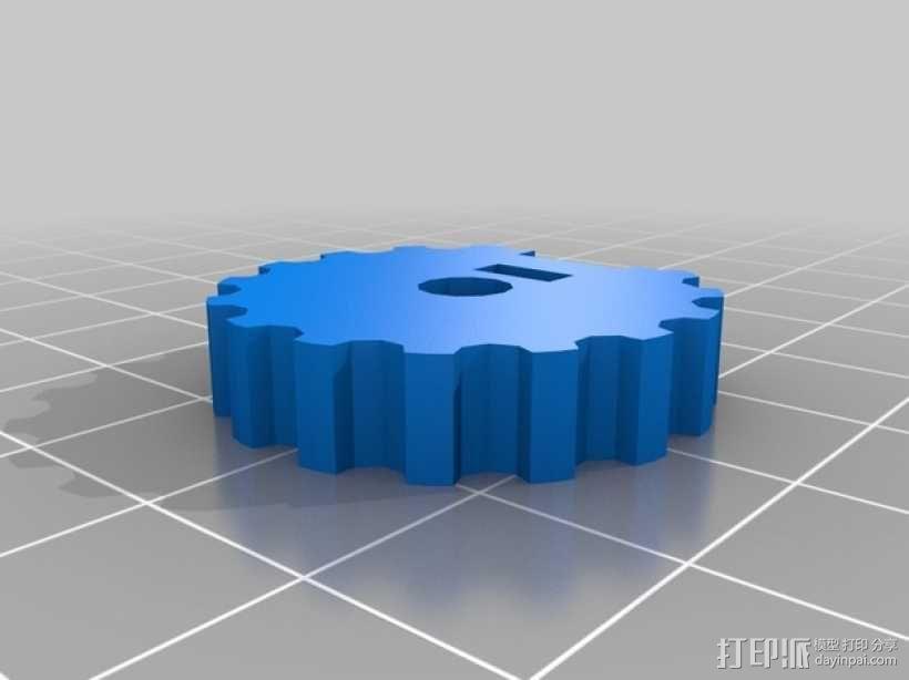 挤出器 3D模型  图15
