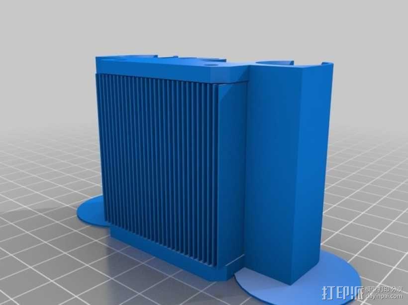 挤出器 3D模型  图17