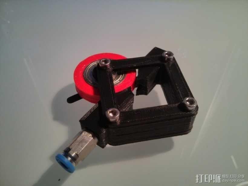 直接驱动挤出器 3D模型  图7