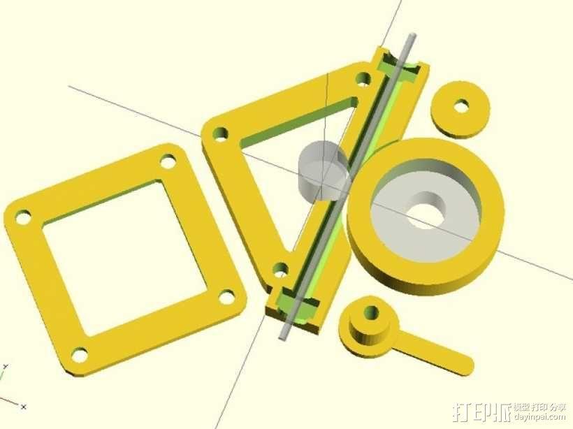 直接驱动挤出器 3D模型  图10
