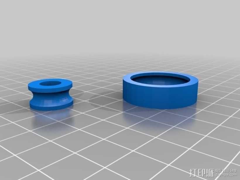 气枪配件 3D模型  图1