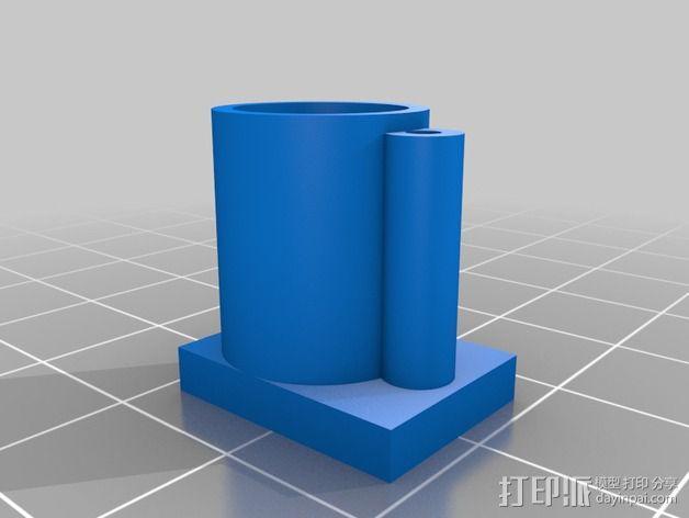 挤出机风扇 3D模型  图5