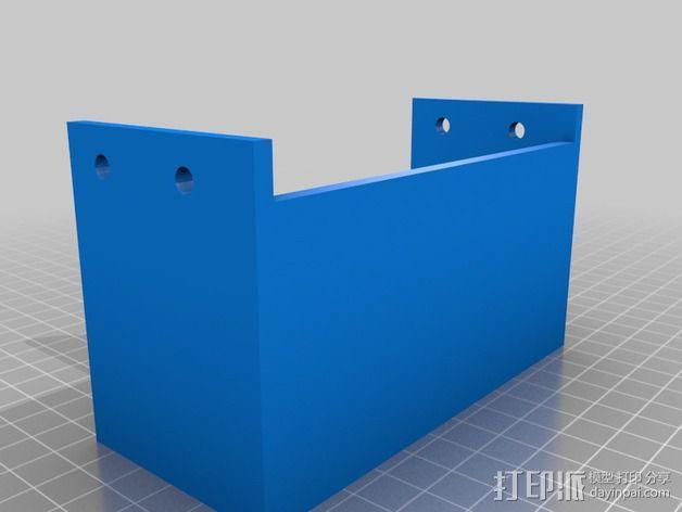 电源开关盖 3D模型  图2