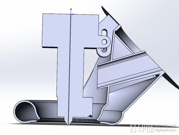 prusa i3风扇 3D模型  图3