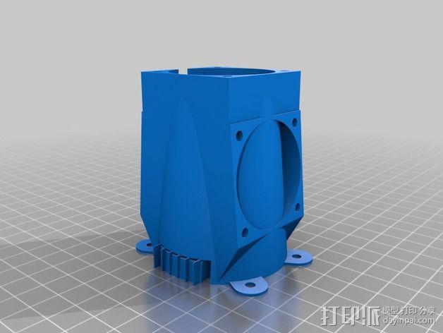 风扇 3D模型  图5
