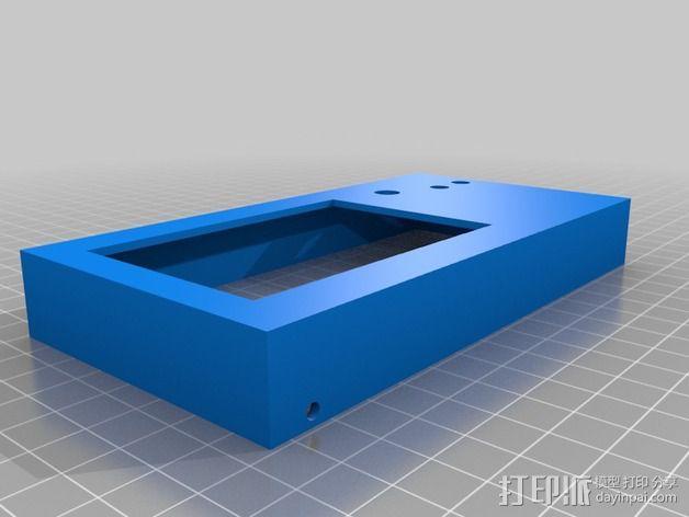 LCD外壳 3D模型  图3