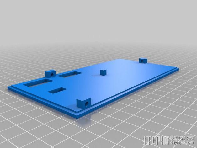 LCD外壳 3D模型  图2