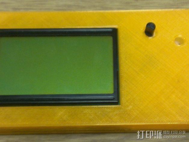 LCD外壳 3D模型  图6