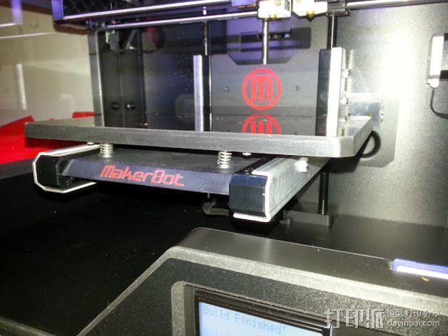 Z轴适配器 3D模型  图1