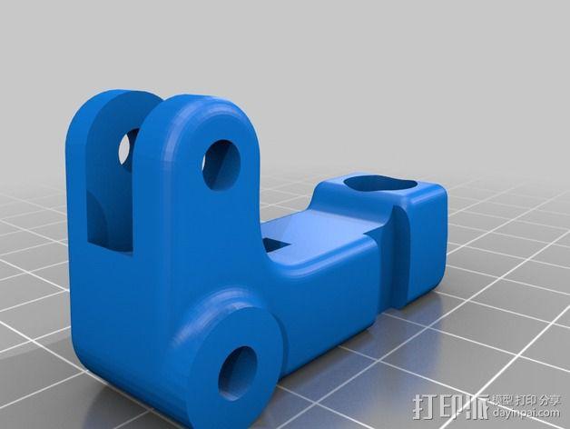适配器 3D模型  图4