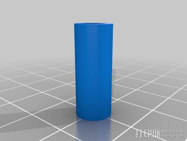 滑轮适配器 3D模型  图1
