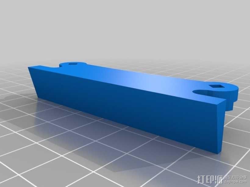 弹簧脚 3D模型  图2