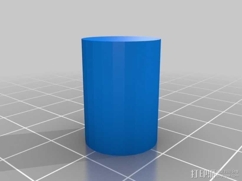 弹簧脚 3D模型  图3