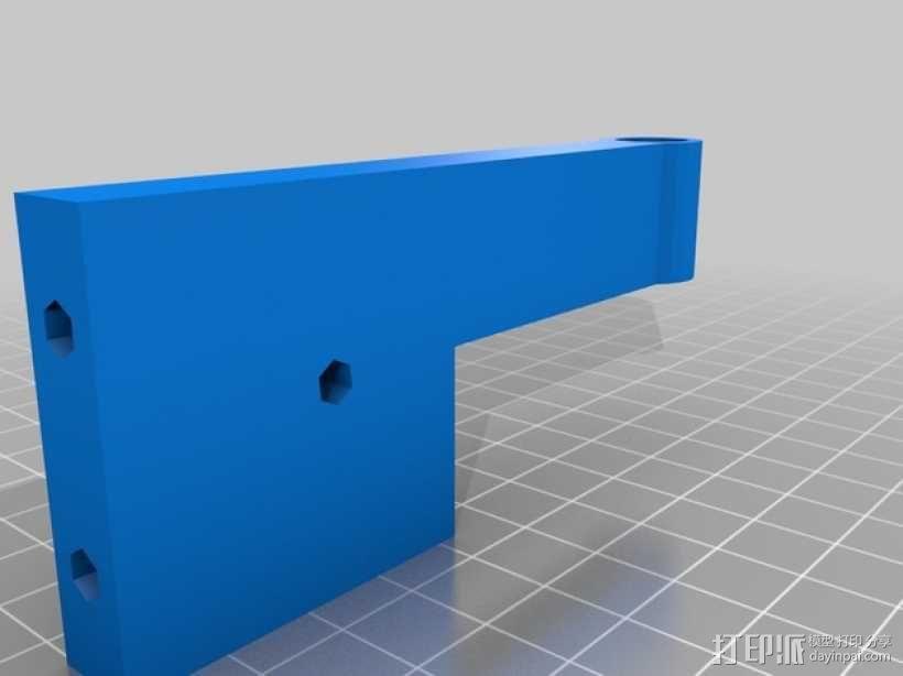 弹簧脚 3D模型  图5