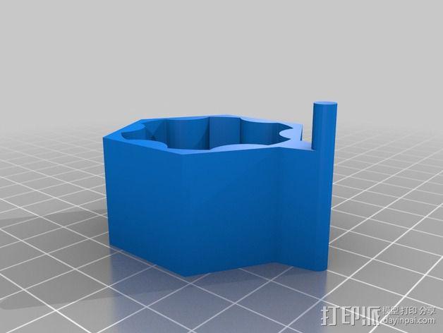 旋钮 3D模型  图3