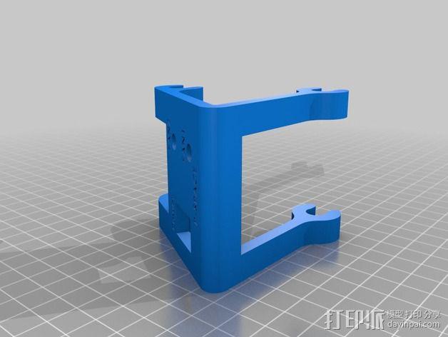 开关 3D模型  图2