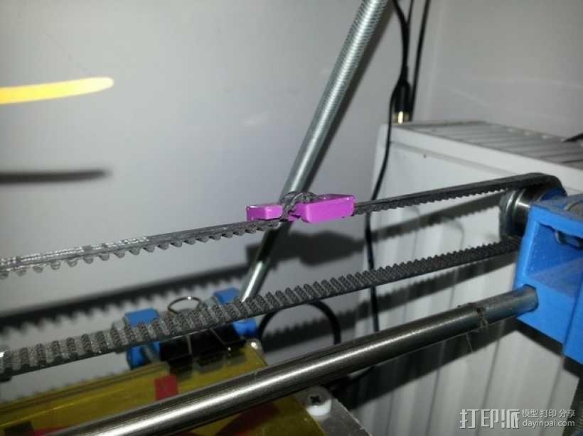 小型皮带张紧器 3D模型  图1