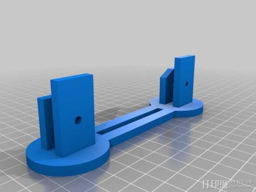 简易的线轴支架 3D模型  图1