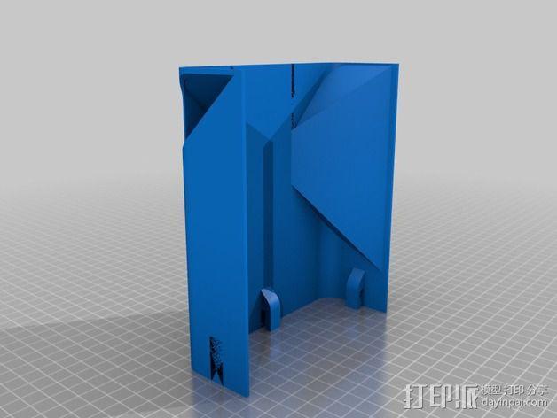 打印机外罩加热器整流罩 3D模型  图2