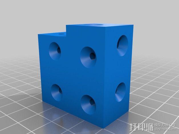 打印机外罩加热器整流罩 3D模型  图4