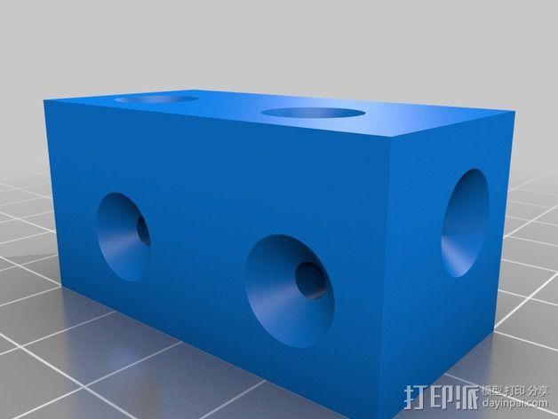 打印机外罩加热器整流罩 3D模型  图6