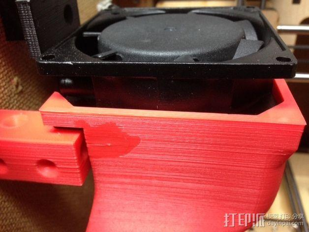 打印机外罩加热器整流罩 3D模型  图7