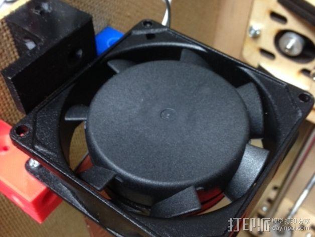 打印机外罩加热器整流罩 3D模型  图11