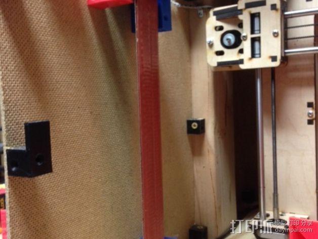 打印机外罩加热器整流罩 3D模型  图10