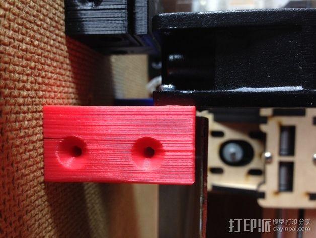 打印机外罩加热器整流罩 3D模型  图13