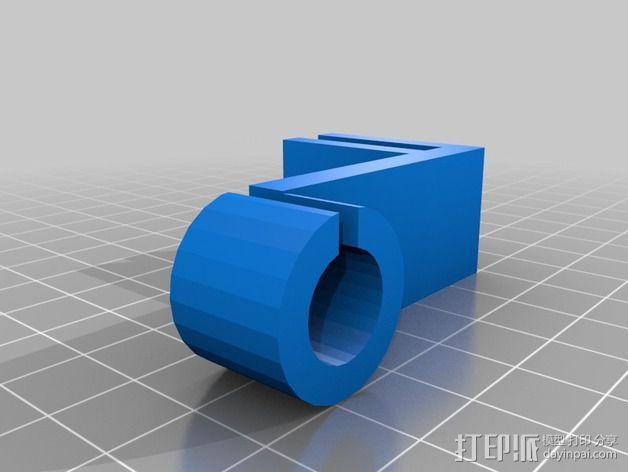 线材滤尘器 导环 3D模型  图2