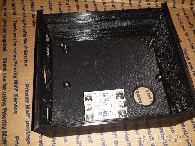 Azteega X3 pro电路板保护罩 3D模型  图3