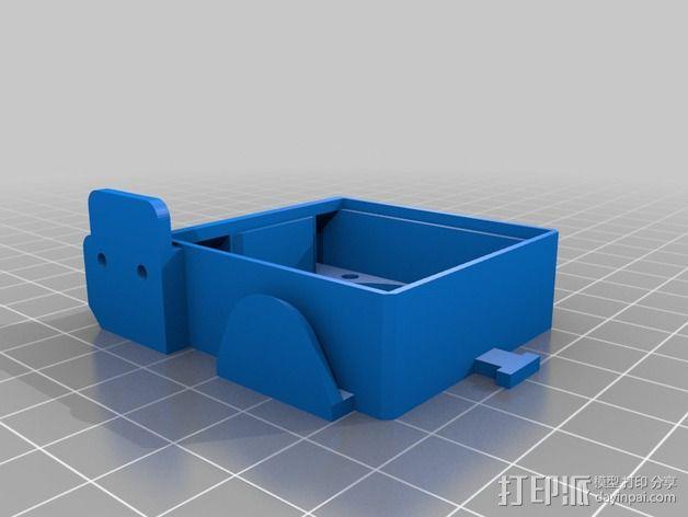 风扇通风导管 风扇支架 3D模型  图3