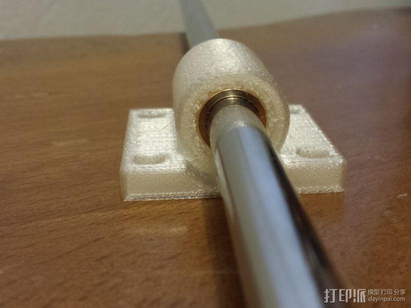 轴承套管固定器 3D模型  图1
