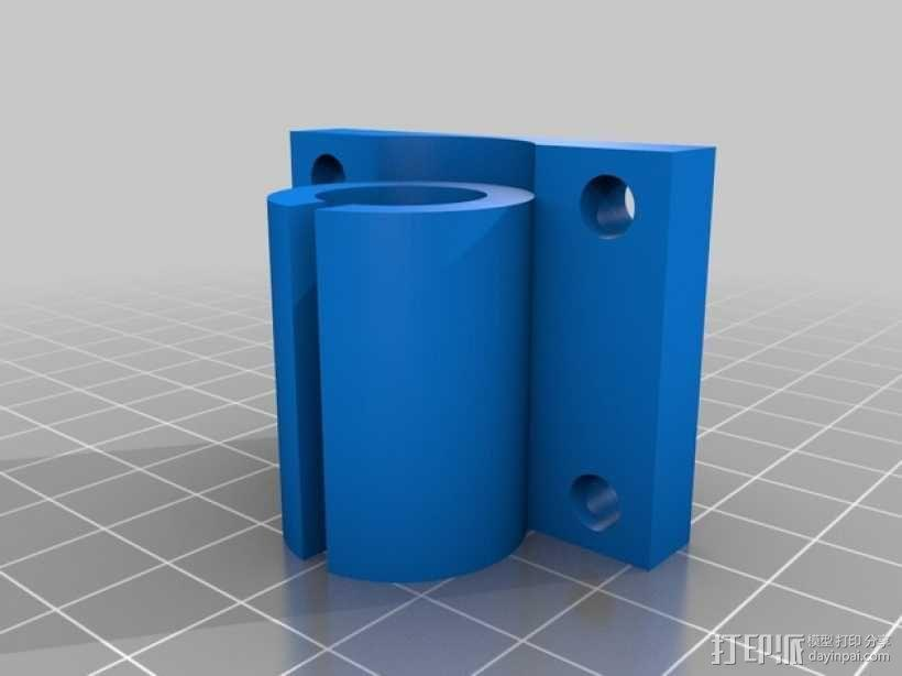 轴承套管固定器 3D模型  图3