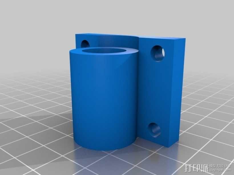 轴承套管固定器 3D模型  图5