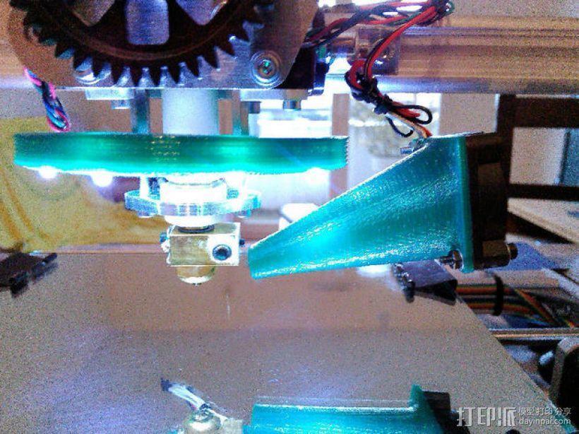 打印机喷头风扇 3D模型  图4