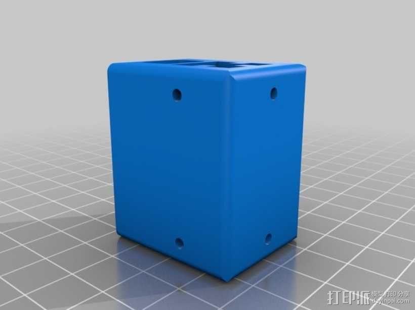 打印机的滑块 3D模型  图1