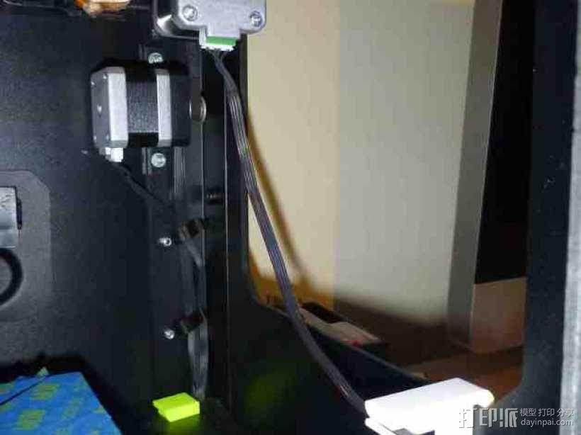 电缆固定器 3D模型  图1