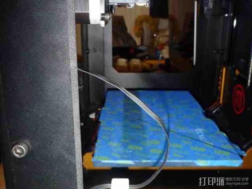 电缆固定器 3D模型  图4