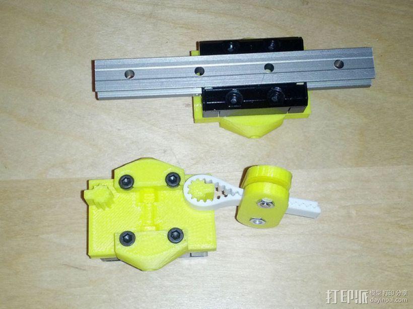 打印机的部件 3D模型  图1