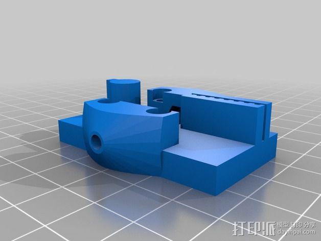 打印机的部件 3D模型  图3