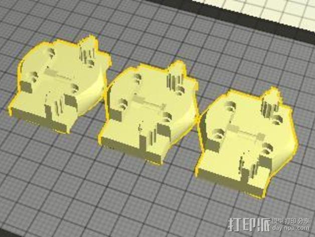 打印机的部件 3D模型  图7