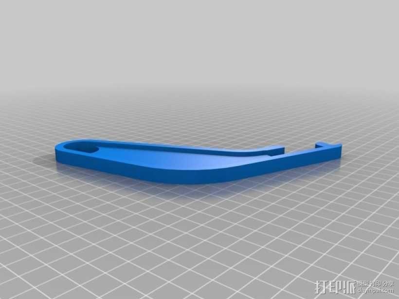 Prusa I3打印机的线材支架 3D模型  图3