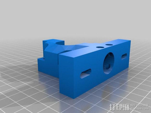 挤出机 3D模型  图4