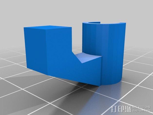 显示屏支架 3D模型  图2